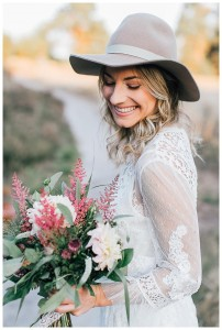 Boho, bride,make-up, hair